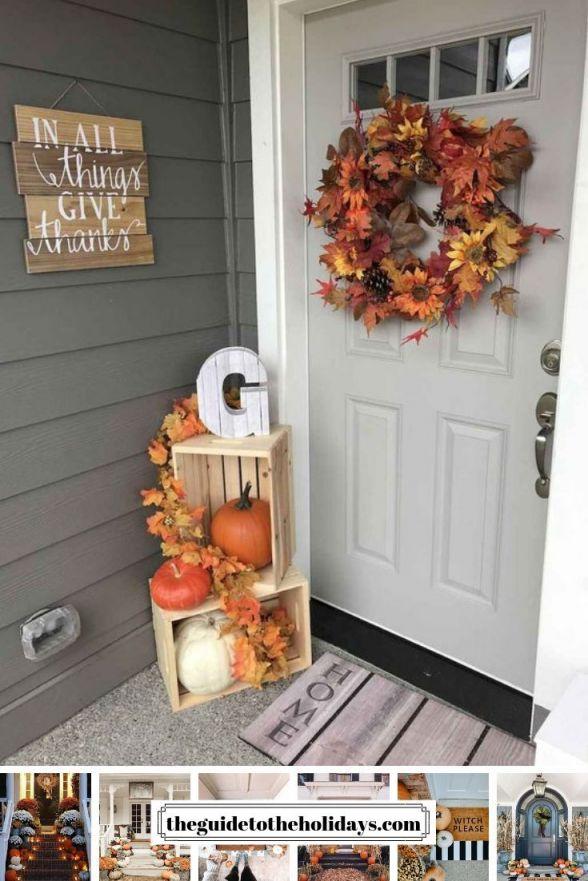 Gorgeous fall decor ideas for porch