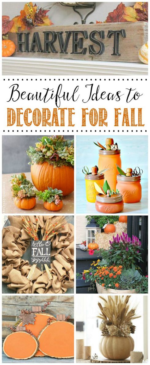 Awesome fall decor ideas