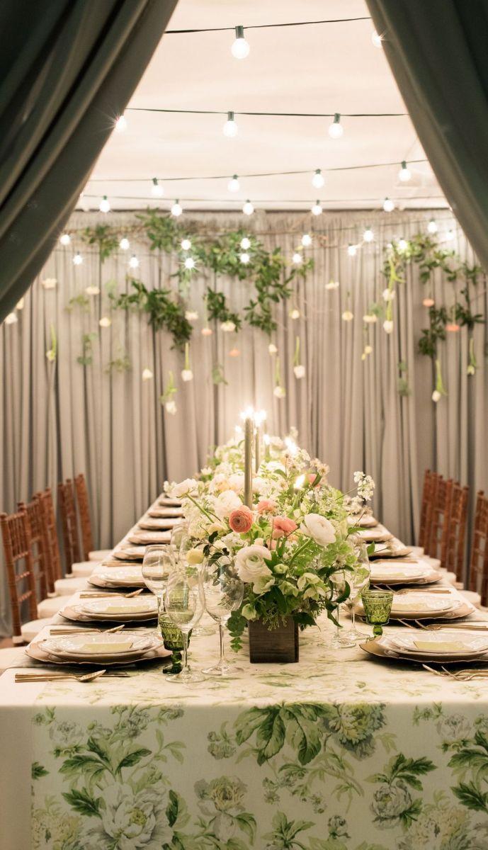 Adorable  indoor garden party ideas