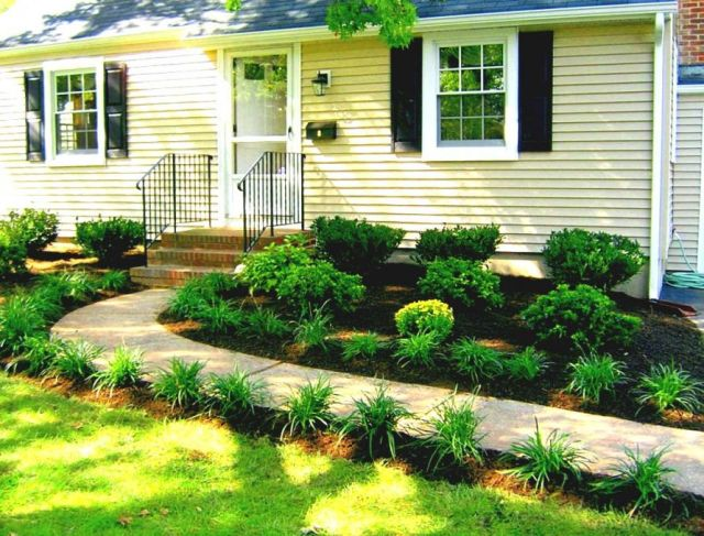 Beautiful landscape ideas for front of house