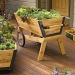 Beautiful Wood Planter Box Ideas