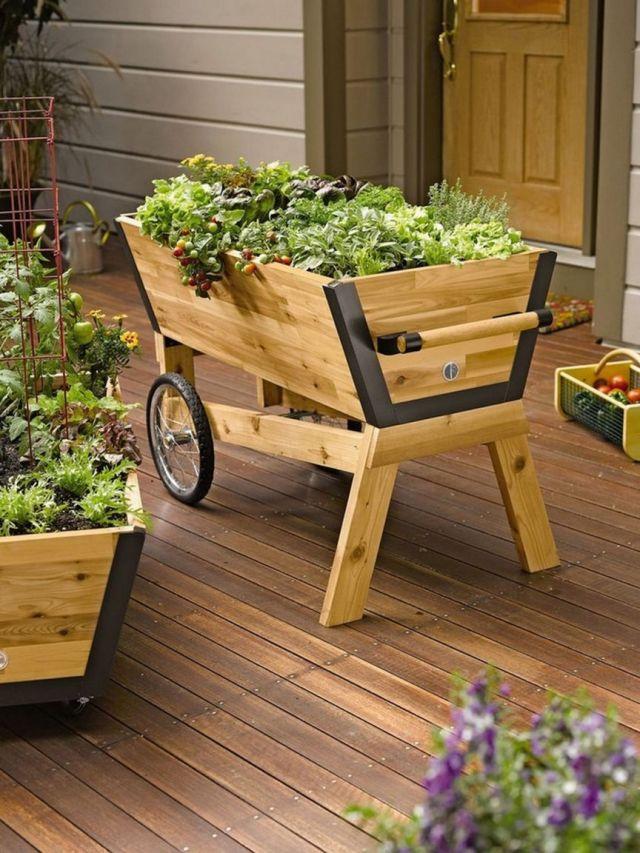 Wonderful wood planter box ideas
