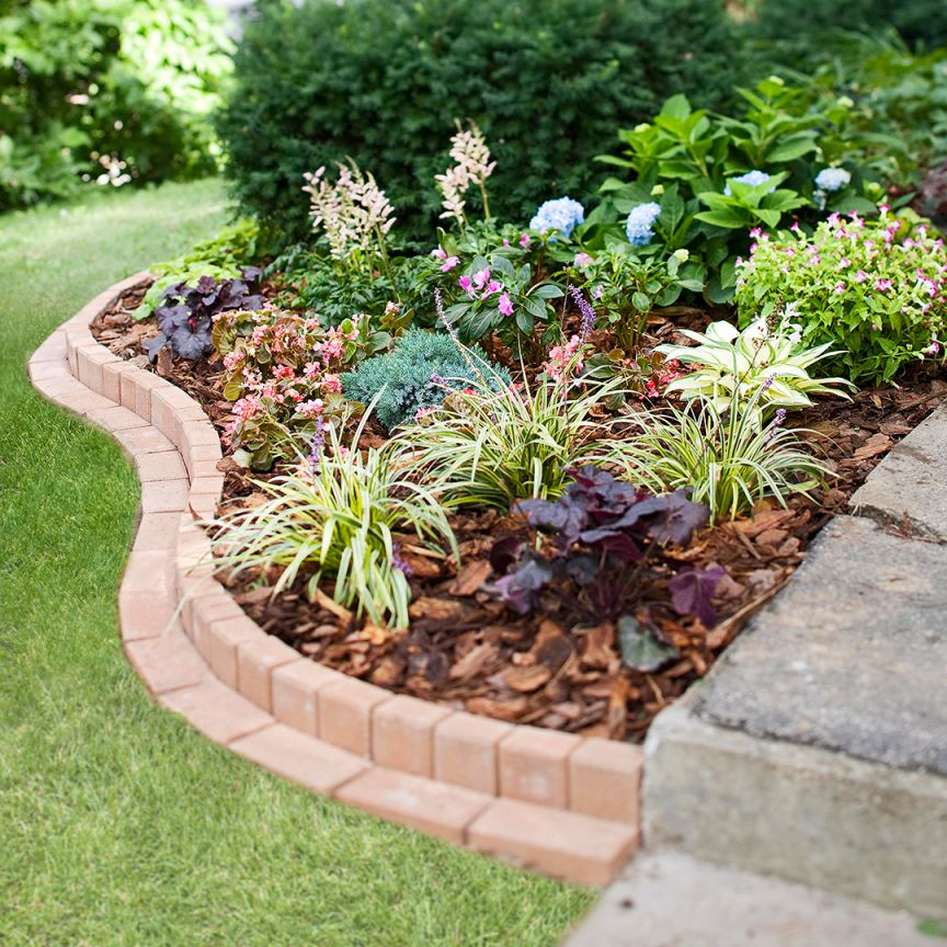 Nice  flower bed border ideas