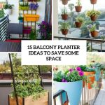 Cool Balcony Plant Ideas