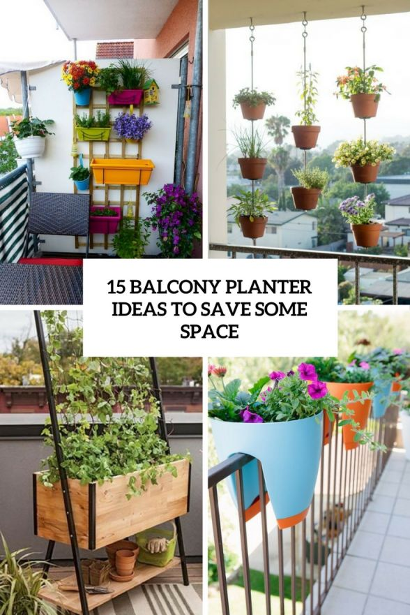 Adorable balcony plant ideas