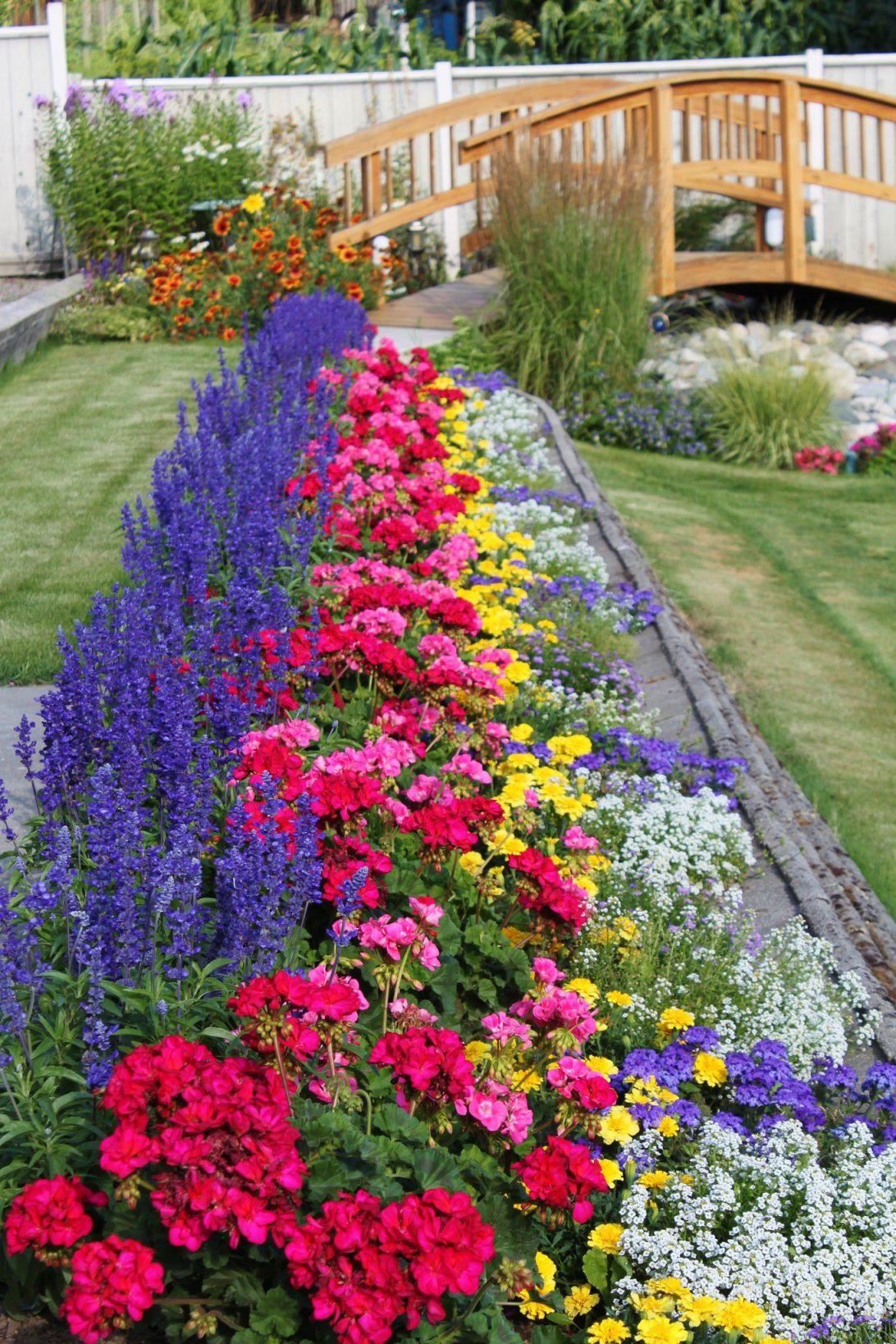 Cool Small Flower Garden Ideas