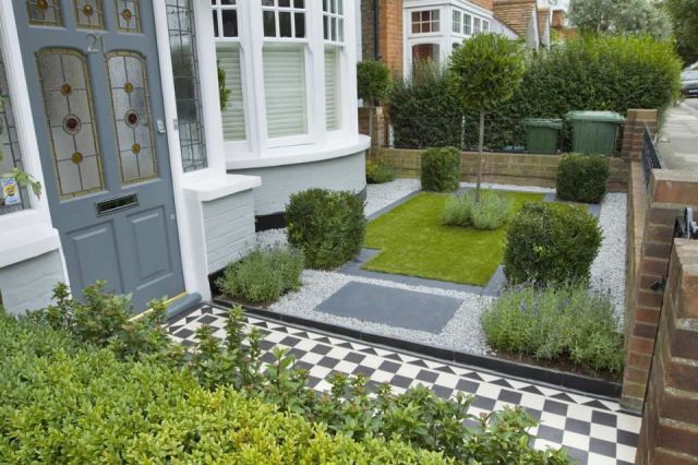 Best small front garden ideas terraced house