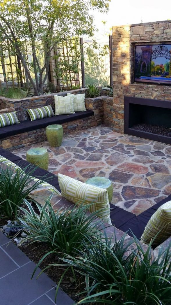 Gorgeous Outdoor Living Spaces For Small Backyards