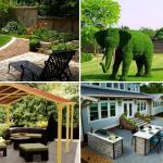 Nice Backyard Garden Layouts
