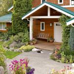 Top Flower Bed Designs For Front Of House