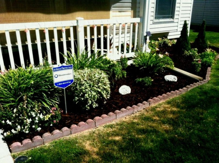 Top flower bed ideas front of house