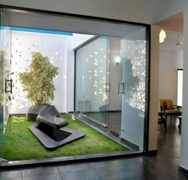 Nice interior garden design ideas