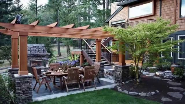 Gorgeous backyard garden design ideas