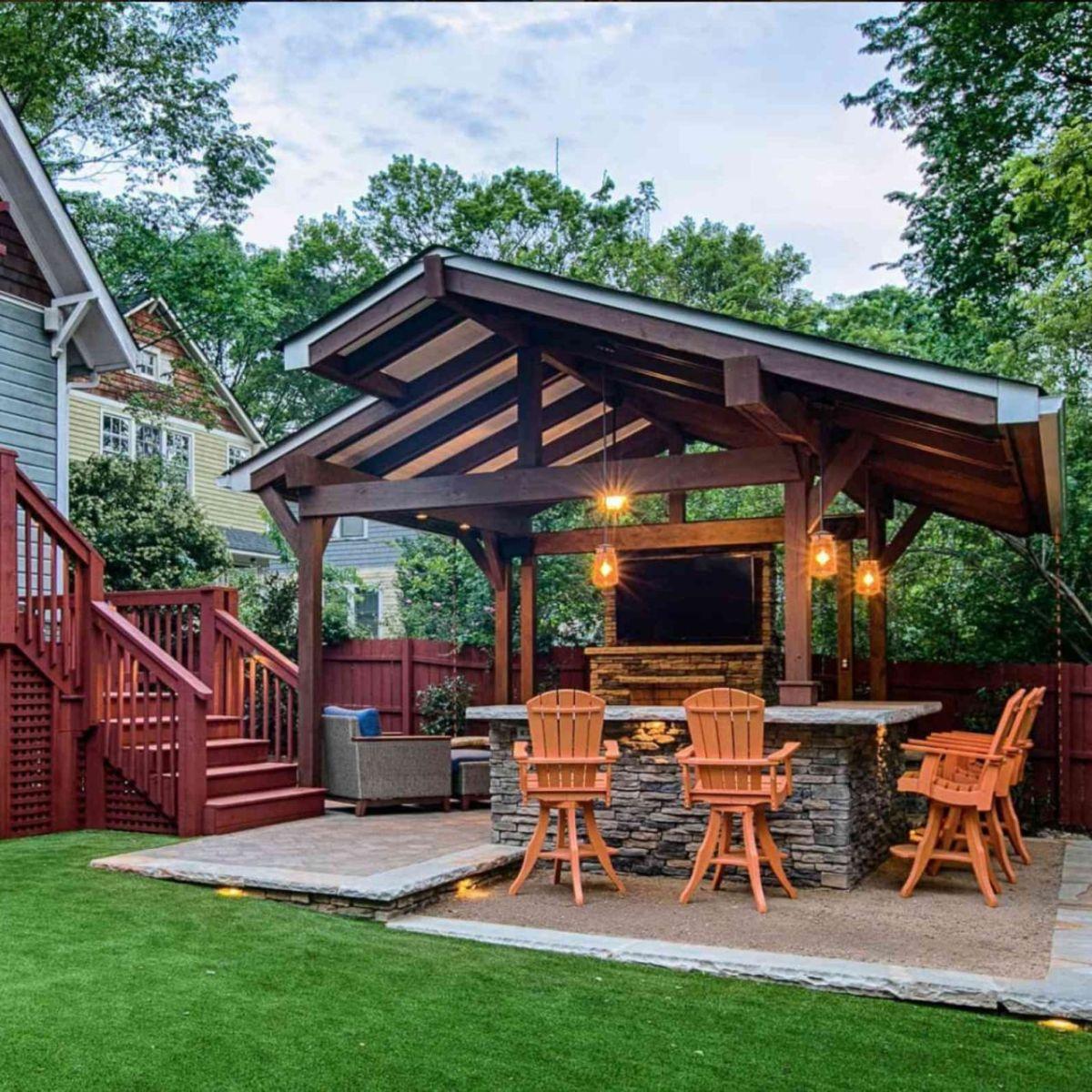 Awesome  cheap backyard landscaping ideas