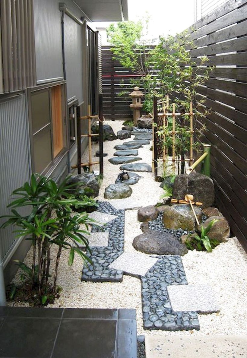 Nice  japanese garden ideas for front yard