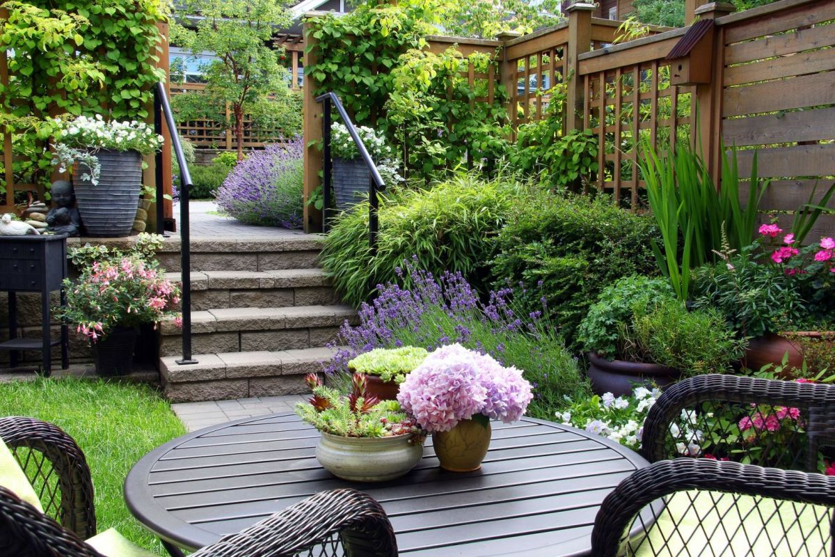 Cool  backyard garden design ideas