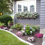 Wonderful Small Flower Bed Ideas For Front Of House