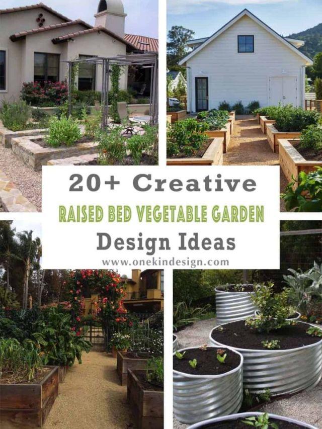 Cool raised garden bed ideas vegetables