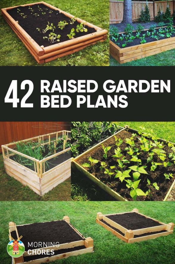 Adorable raised garden bed ideas vegetables