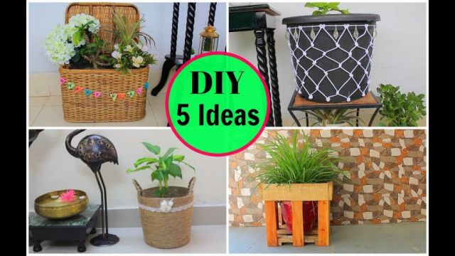 Amazing indoor plant pot decoration ideas