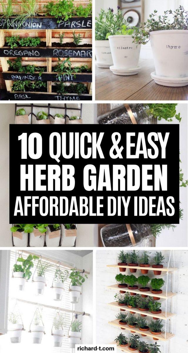 Wonderful diy indoor herb garden ideas