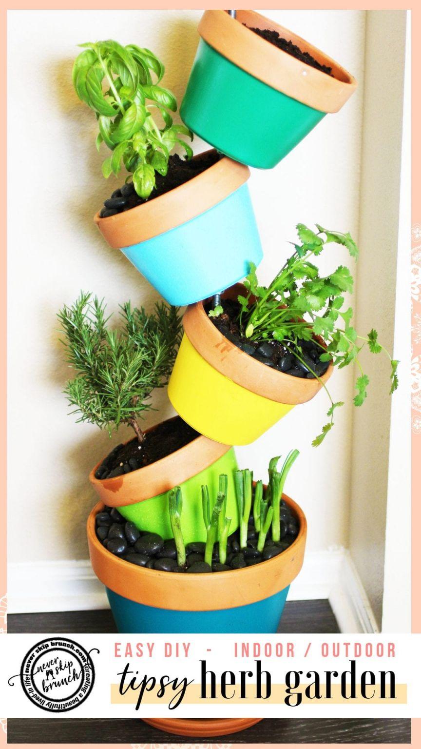 Nice Diy Indoor Herb Garden Ideas