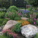 Nice Flower Bed Ideas With Rocks