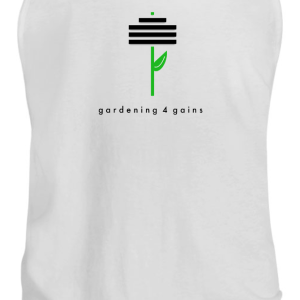 Gains Tank Men White