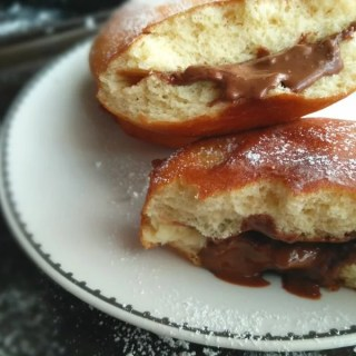 Nutella Filled Donuts