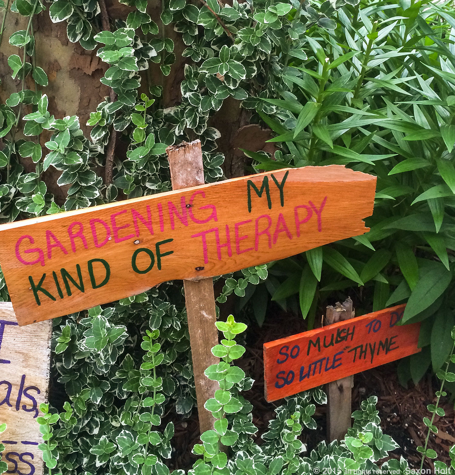 Gardener's street sign, Therapy, Brooklyn