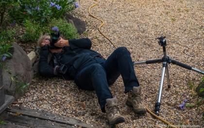 student at Marin Art & Garden Center photo workshop