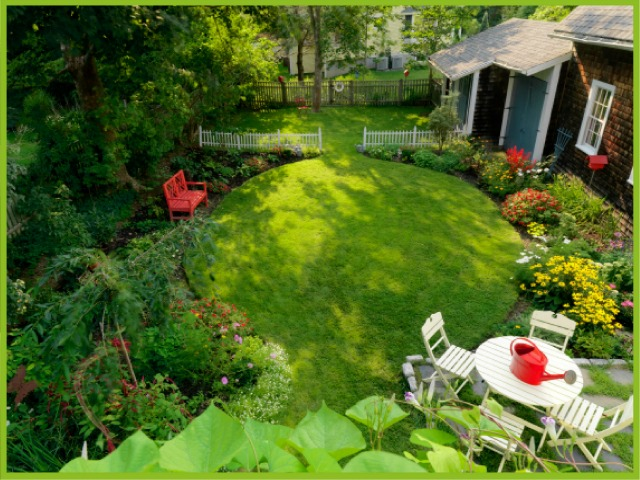 Let home outside s app help design the landscape of your for Help design my garden