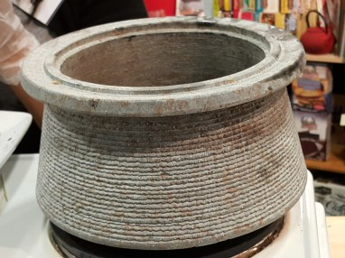 Go Green Expo A serpentine stone pot