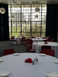 The tables were set beautifully for the High Tea