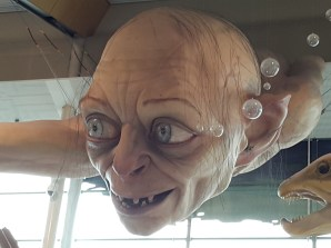 It was kind of cool to be greeted by Golum on arrival and…