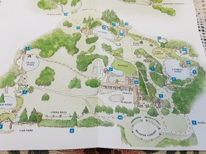 Ayrlies Garden Map