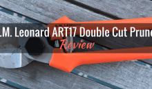 A.M. Leonard ART17 Double Cut Pruner: Product Review
