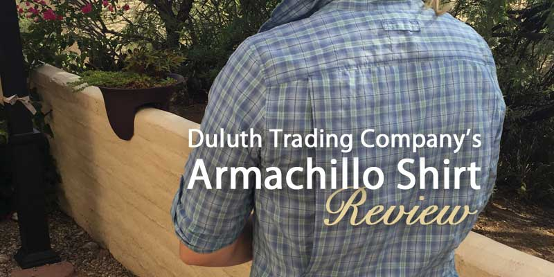 Duluth Trading Company's Armachillo shirt review