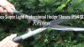 Bahco Super Light Professional Hedge Shears P54-SL-25 Feature