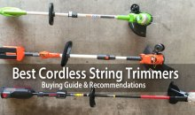 Best Cordless Battery Powered String Trimmers: Reviews & Buying Guide