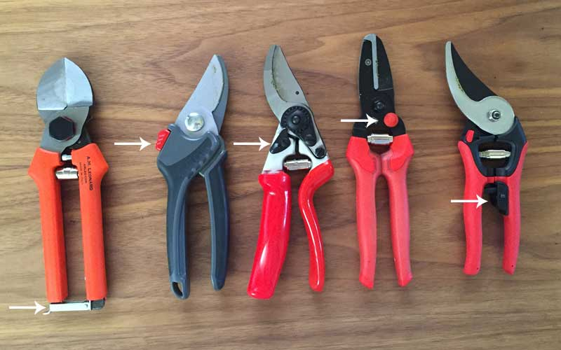 locks on pruners