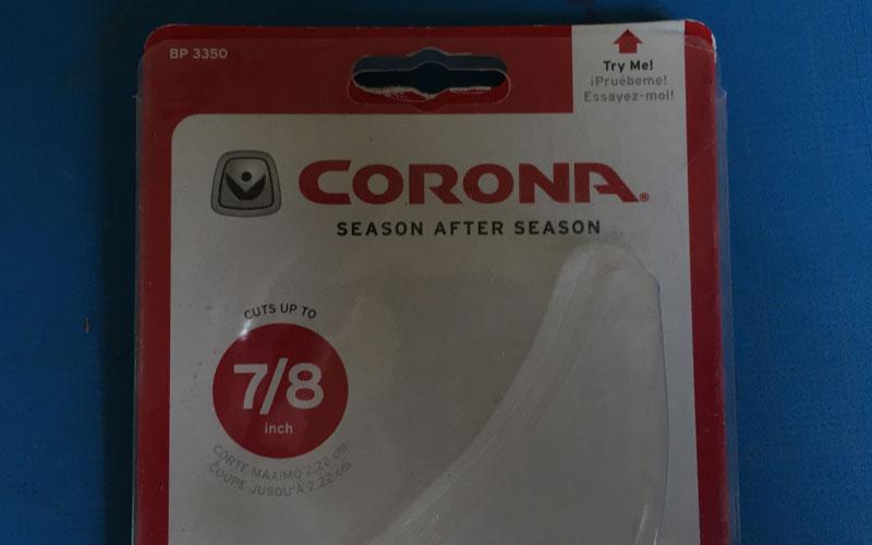 Corona Adjustable Grip packaging