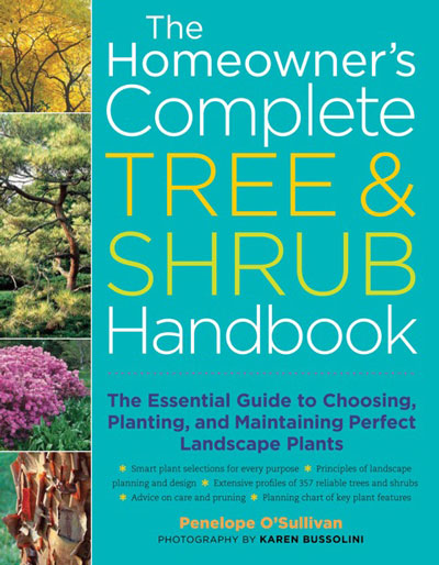 The Homeowner's Complete Tree & Shrub Handbook - front cover