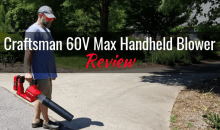 Craftsman 60V Max Handheld Blower: Product Review