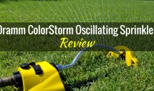 Dramm ColorStorm Oscillating Sprinkler: Product Review