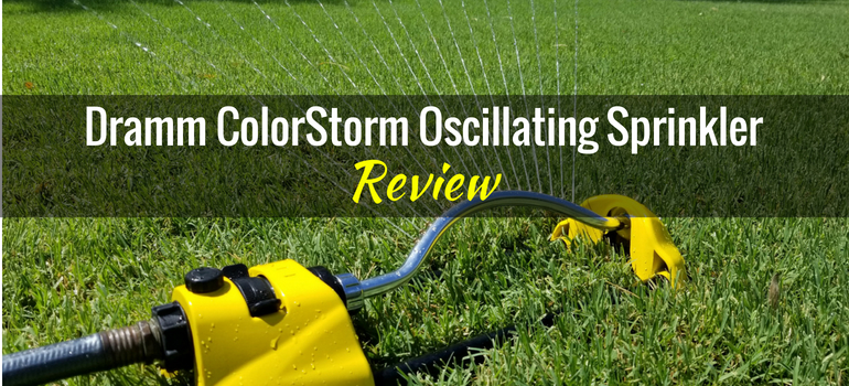 Dramm ColorStorm Oscillating Sprinkler