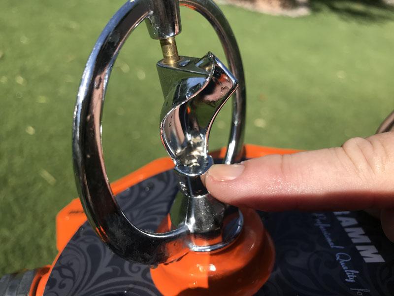 Dramm spinning parts