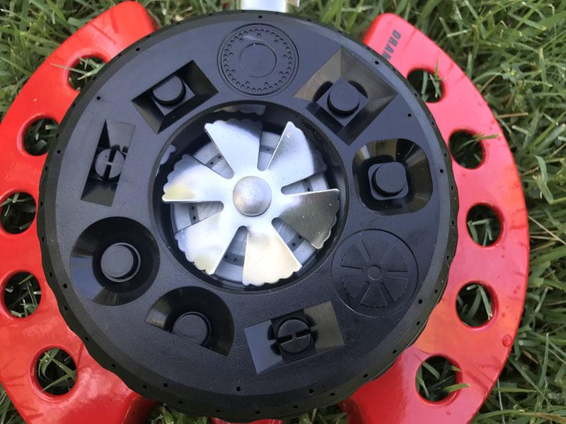 Dramm ColorStorm 9-Pattern Turret Sprinkler pattern dial