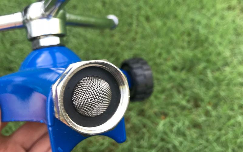 Dramm whirling sprinkler connector