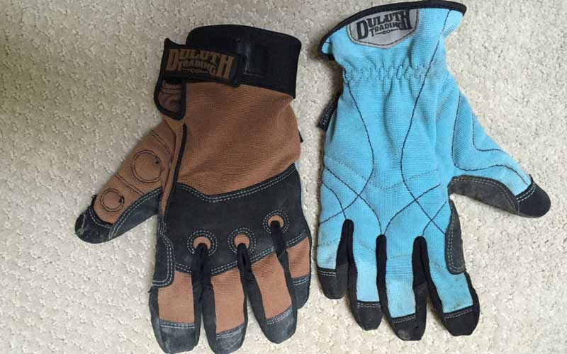 men's and women's work gloves from Duluth Trading